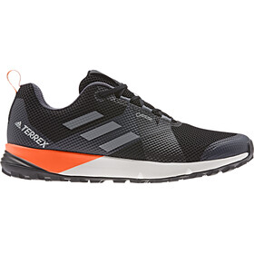 adidas TERREX Two GTX Zapatillas Corte Bajo Hombre, core black/grey/solar orange